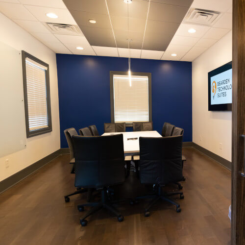 Large Meeting Room CoWorking Knoxville - 500x500